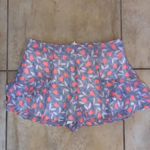 Lush Pants - Vibrant Lush Shorts/Skort